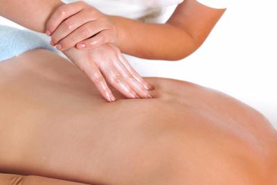 Quiromasaje para dolor de espalda